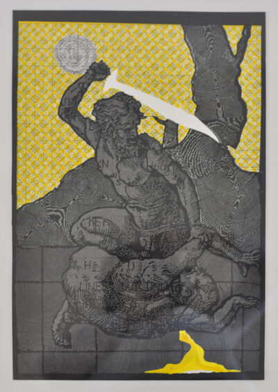 Ryan Arenson, 'Engraved (Yellow)', 2008