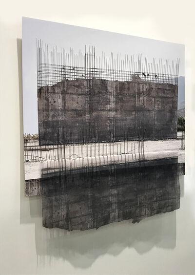 Leyla Cárdenas, 'Reflejo de tiempos en suspensión (versión 1)', 2019