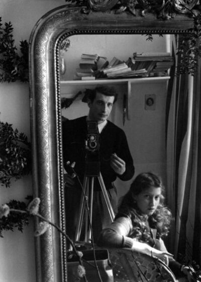 Edouard Boubat, 'Autoportrait with Lella', 1951