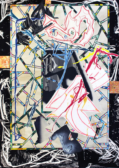 Frank Stella, 'The Counterpane', 1985-1989
