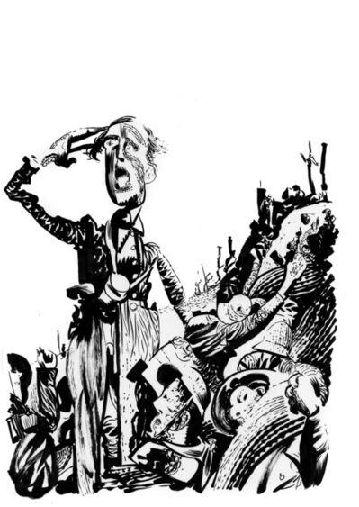 Dave McKean, 'Westfront 1918 (Georg Wilhelm Pabst) 1930', 2020
