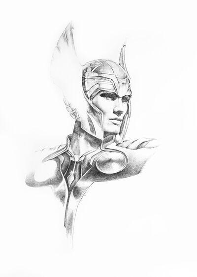 Sanjulian Jr. (Manuel Pérez), 'Dolph Lundgren as Thor', 2016