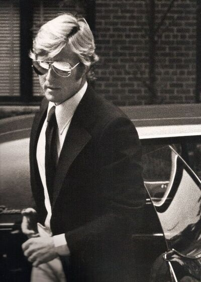 Ron Galella, 'Robert Redford arriving at Mary Lasker's Apartment, New York', 1974