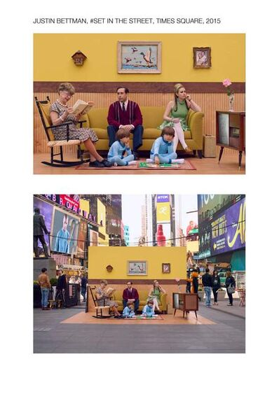 Justin Bettman, '#SetInTheStreet Times Square', 2015