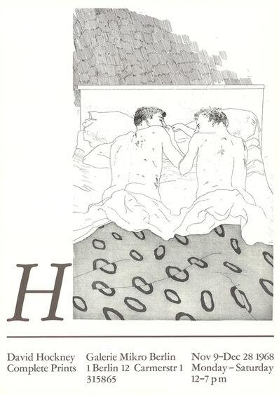 David Hockney, 'Two Boys Aged 23 or 24', 1968