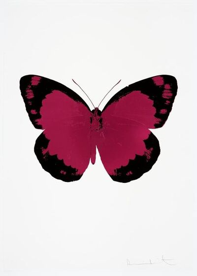Damien Hirst, 'The Souls II: Fuchsia Pink / Raven Black / Blind Impression', 2010