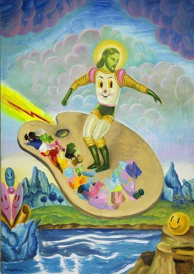 Sergio Mora, 'Cosmic Surfer', 2020