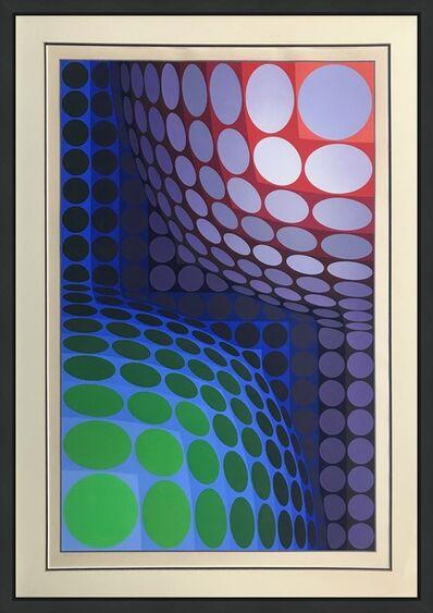 Victor Vasarely, 'BI-VEGA', 1975