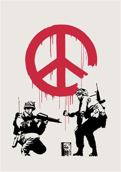 Banksy, 'CND Soldiers - Unsigned', 2005