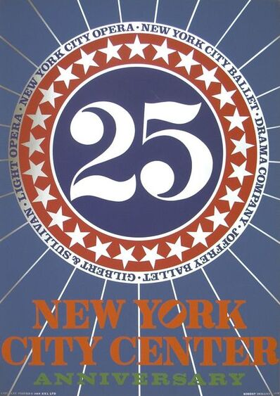 Robert Indiana, 'New York City Center', 1968