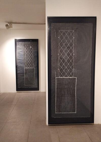 Sumakshi Singh, 'Indigo Door - From the series 33 Link Road', 2019