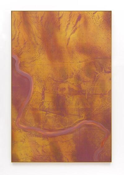 Tony de los Reyes, 'Border Theory (rio grande/red violet river)', 2016