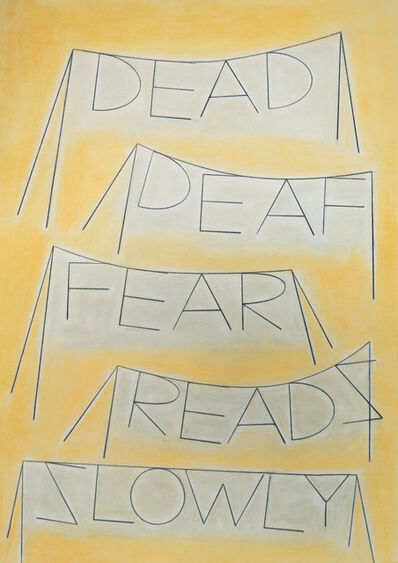 Honza Zamojski, 'Dead Deaf Fear Reads Slowly', 2020