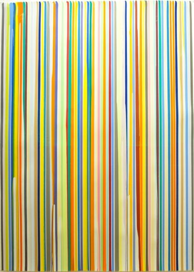 Ian Davenport, 'Poured Lines December 20', 2005