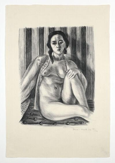 Henri Matisse, 'Nu assis à la chemise de tulle', 1925