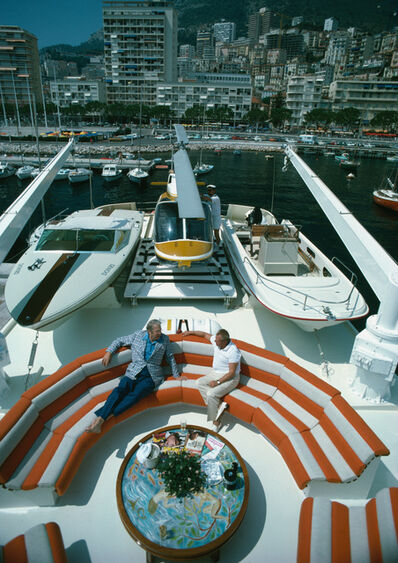 Slim Aarons, 'Transport Buffs', ca. 1970s