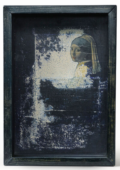 Joseph Cornell, 'Untitled (Hotel Box with Vermeer Detail)', ca. 1955