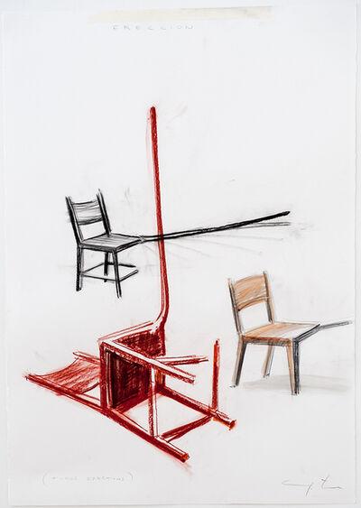 Yoan Capote, 'Three erections', 2013
