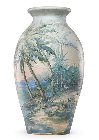 Hester Pillsbury, 'Hudson floor vase with tropical scene', 1917-34