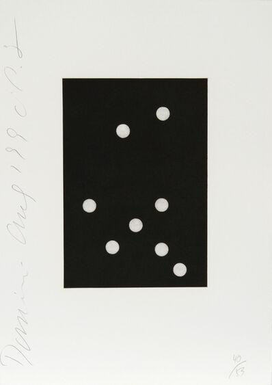 Donald Sultan, 'Dominoes Portfolio - 24', 1990