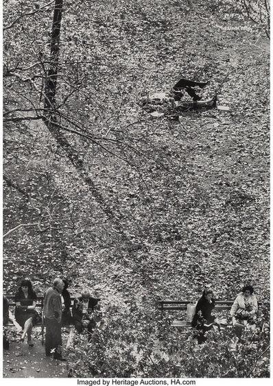 André Kertész, 'Washington Square Park'