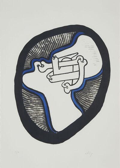 Sorel Etrog, 'Profile I', 1968