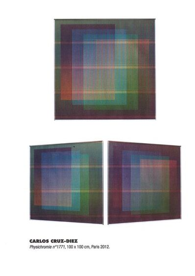 Carlos Cruz-Diez, 'Physichromie 1771', 2012