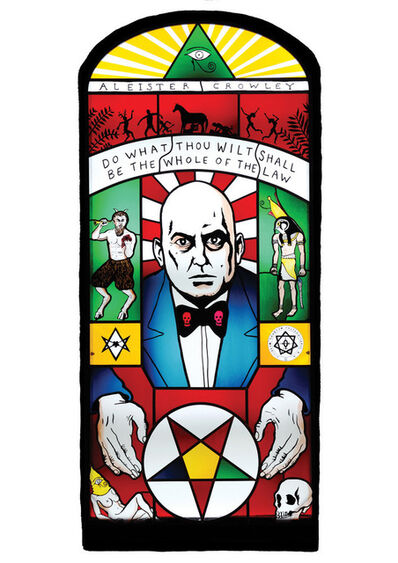 Neal Fox, 'Aleister Crowley', 2011