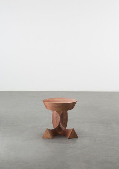 Aldo Bakker, 'Sitting Table Red Travertine', 2018-2019