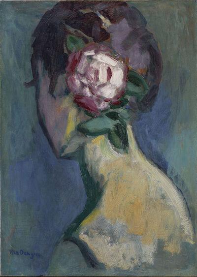 Kees van Dongen, 'Femme à la rose', ca. 1925