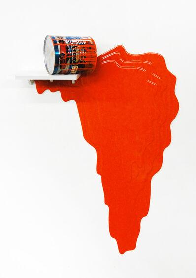 Jorge Magyaroff, 'Sin título. No. 1 (naranja)', 2014