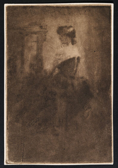 Walter Richard Sickert, 'Lucie Finch', 1884