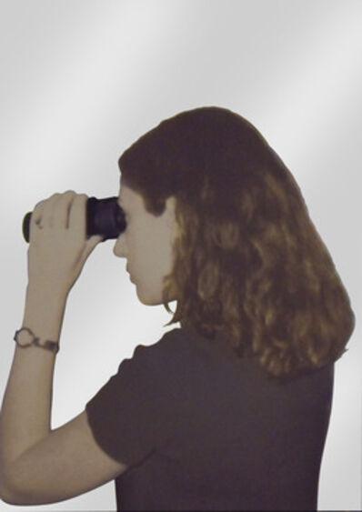 Michelangelo Pistoletto, 'Persona che guarda lontano', 1962 -1999