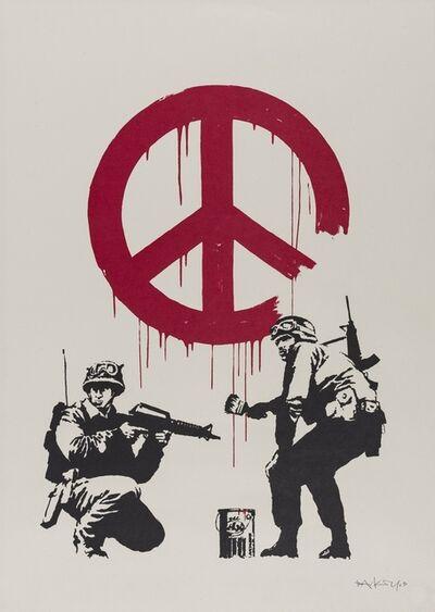 Banksy, 'CND (Signed)', 2005