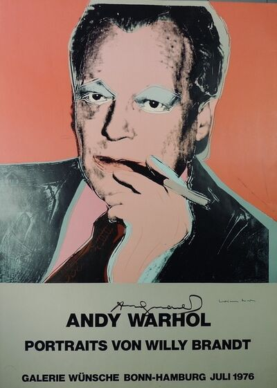 Andy Warhol, 'Portraits von Willy Brandt', 1976