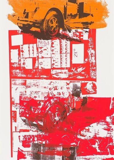 Robert Rauschenberg, 'Read Bleed', 1984