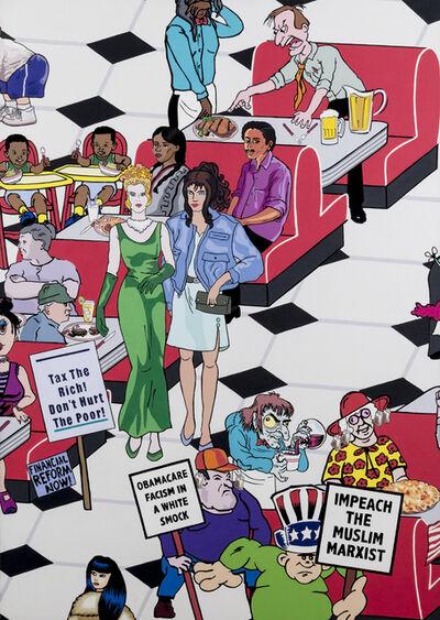 Nancy Chunn, 'Scene IX, The Diner, Detail: Tea Party', 2011-2014