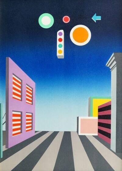 Xanti Schawinsky, 'La Strada Silenziosa', 1976