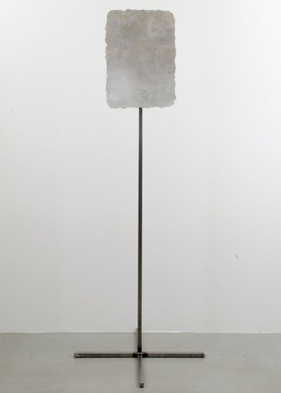 Håvard Homstvedt, 'Remnant Painting 2007-2013 (Lead White, Silver)', 2007-2013
