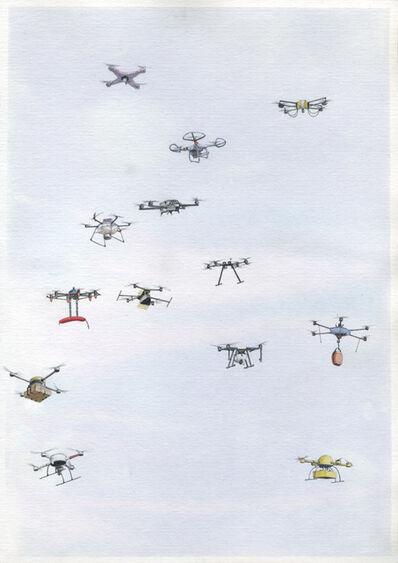 Micha Payer + Martin Gabriel, 'Drohnen #22', 2019