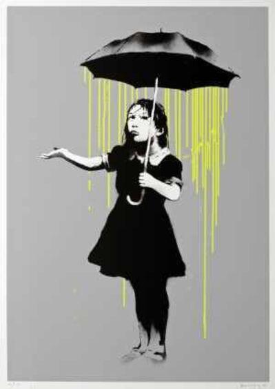 Banksy, 'Nola (Yellow Rain)', 2008