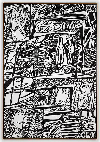 Jean Dubuffet, 'Site de Mémoire II', 1979
