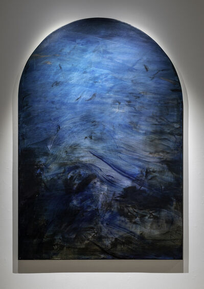 Jake Wood-Evans, 'The Assumption, with Prussian Blue, after Rubens', 2019