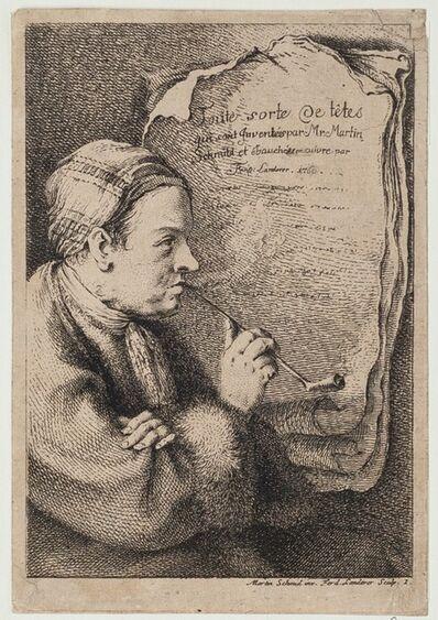 FERDINAND LANDERER, 'Toute Sorte Le Têtes', 18th Century