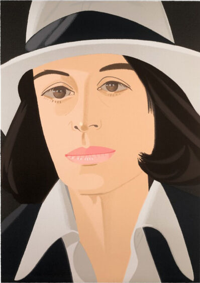Alex Katz, 'White Hat', 1990
