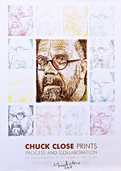 Chuck Close, 'Chuck Close Prints - Process and Collaboration (Hand Signed)', 2004-2014