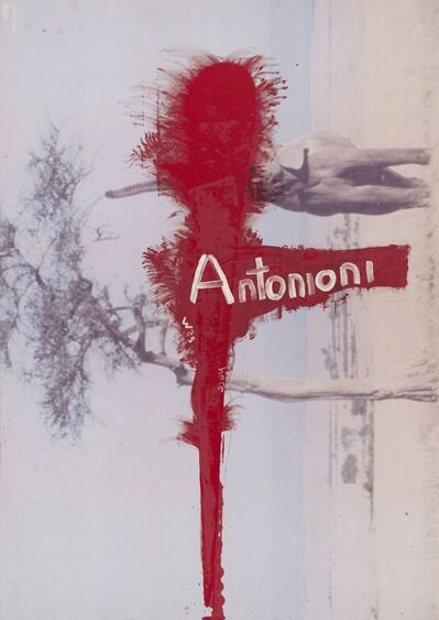 Julian Schnabel, 'Untitled (Antonioni was here)', 2010