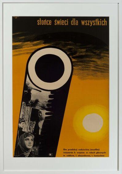 Wojciech Fangor, 'Slonce swieci dla wszystkich', 1963