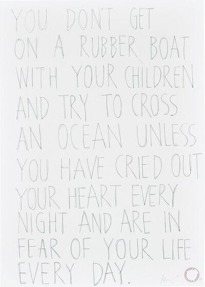 Robert Montgomery, 'Untitled', 2019