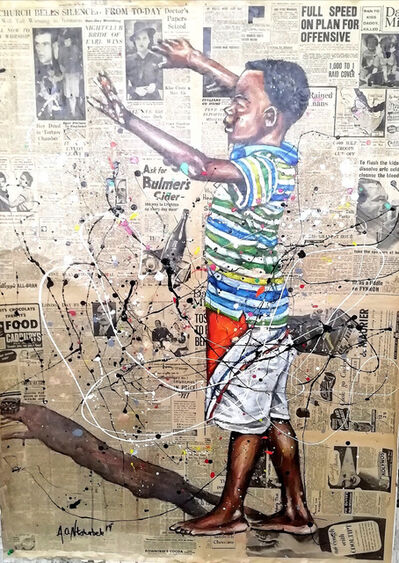 Andrew Ntshabele, 'The joy of life II', 2020